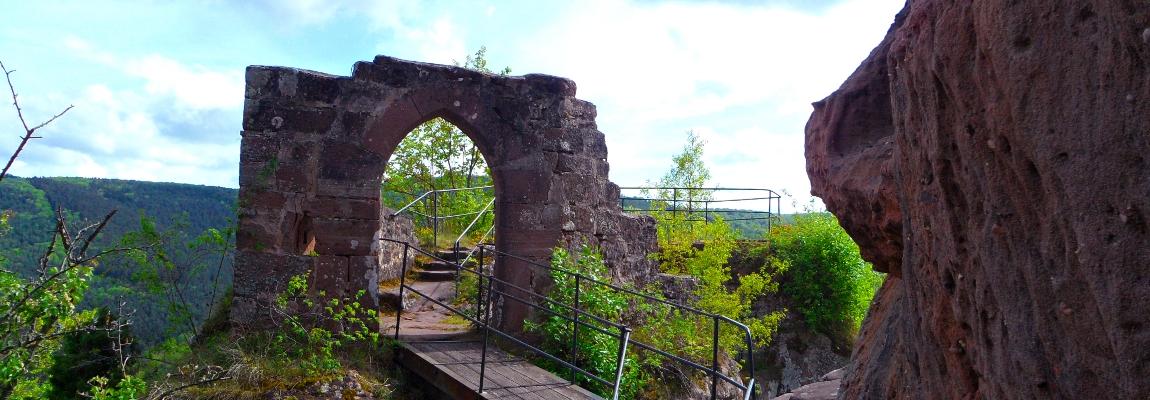 Porte en arc brisé de la Froensbourg