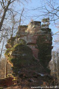 Rocher du Helfenstein - vue Est
