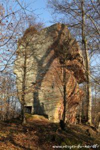 Rocher du Helfenstein - Vue Ouest